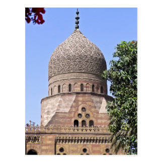 Dome of a mosque in Cairo Postcard