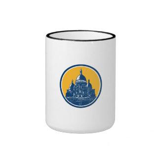 Dome of Sacre Coeur Basilica Paris Retro Mug