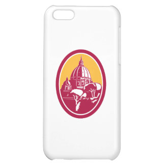 Dome of St Peter s Basilica Vatican Retro Case For iPhone 5C