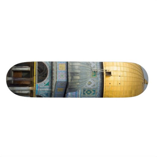 Dome of the Chain Temple Old City of Jerusalem Skate Board Decks