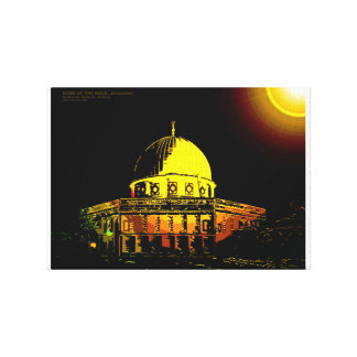 Dome of the Rock, Jerusalem Canvas Print