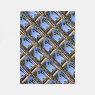 Dome of the Sultan Ali mosque in Cairo Fleece Blanket