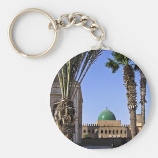Dome of the Sultan Ali mosque in Cairo Key Ring