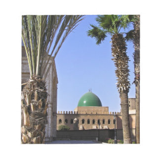 Dome of the Sultan Ali mosque in Cairo Notepad