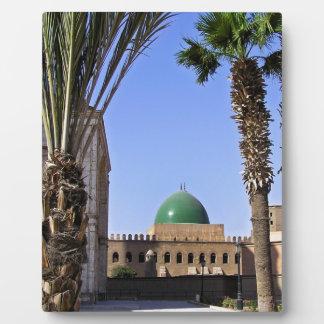 Dome of the Sultan Ali mosque in Cairo Plaque
