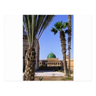 Dome of the Sultan Ali mosque in Cairo Postcard