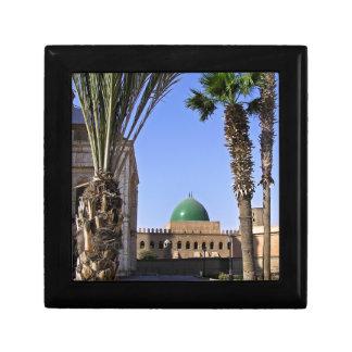 Dome of the Sultan Ali mosque in Cairo Small Square Gift Box
