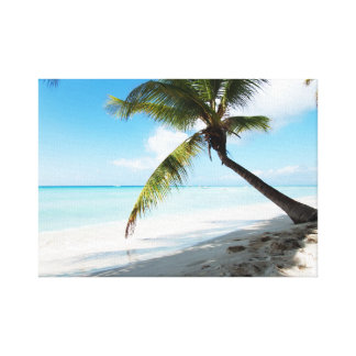 Domenicana beach canvas print