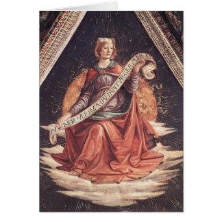 Domenico Ghirlandaio: A Sibyl Card