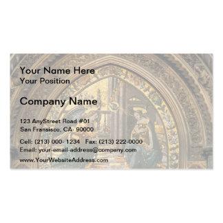 Domenico Ghirlandaio: Annunciation closeup Business Card Template