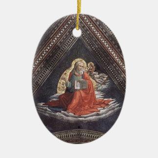 Domenico Ghirlandaio: St. Matthew the Evangelist Christmas Tree Ornaments
