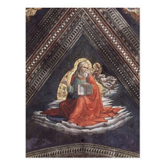 Domenico Ghirlandaio: St. Matthew the Evangelist Postcard