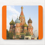 """""""DOMES OF ST. BASIL'S, MOSCOW"""" MOUSE MAT/MOUSEPAD"""