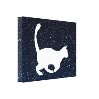 Domestic Cats Symbol Canvas Prints