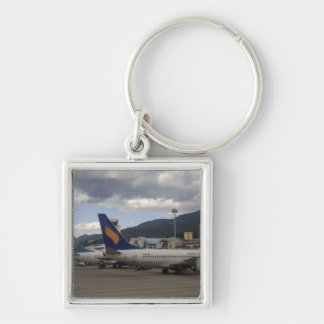 Domestic Chinese jet airliners lined up at Key Chains