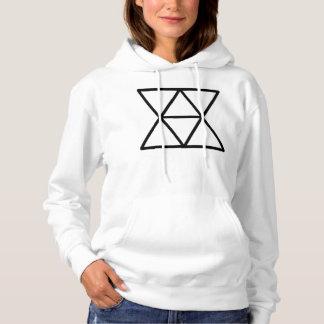 Domestic Diplomats Logo Women's Hooded Sweatshirt