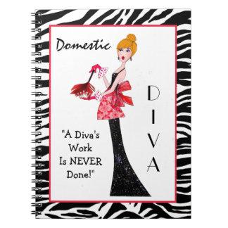 Domestic Diva Note Book
