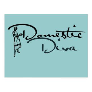 Domestic Diva Postcard