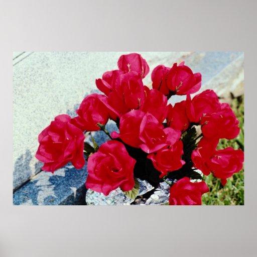 Domestic flowers, Stratford, Ontario, Canada Print