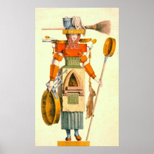 Domestic Goddess 1780 Print