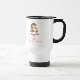 Domestic Goddess (brown hair) Coffee Mug