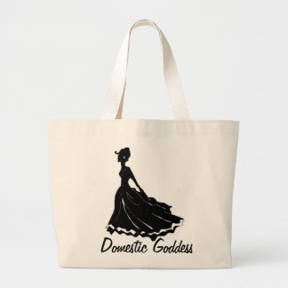Domestic Goddess Girly Tote Bag