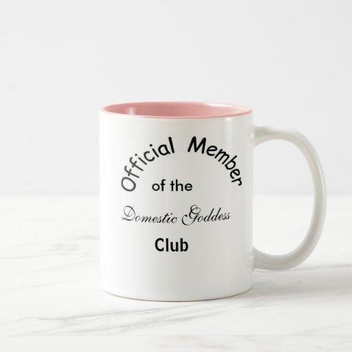 Domestic Goddess Coffee Mugs