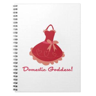 Domestic Goddess Note Books