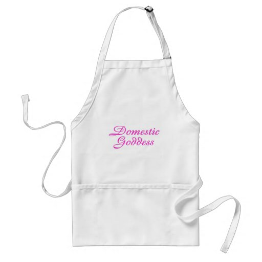 Domestic Goddess Pink Aprons