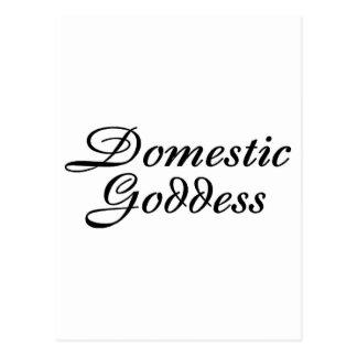 Domestic Goddess Postcard