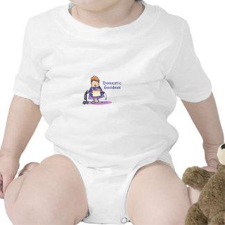 Domestic Goddess Baby Bodysuits