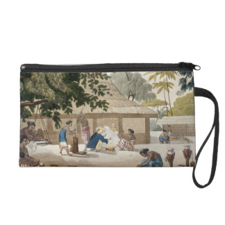 Domestic life in Kupang, Timor, plate 10 from 'Le Wristlet Clutch