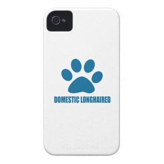 DOMESTIC LONGHAIRED CAT DESIGNS iPhone 4 COVER