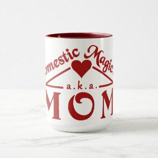 Domestic Magician custom mug - choose style