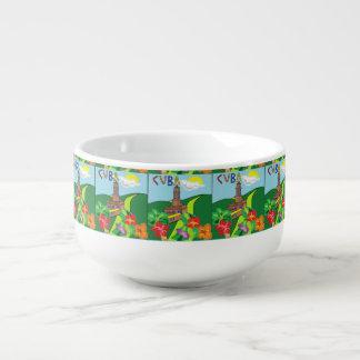 Domestic Not Basic Cuba Soup Bowl Soup Mug