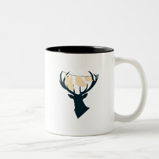 Domestic Stag Two-Tone Coffee Mug