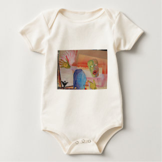 Domestic Violence Baby Bodysuit