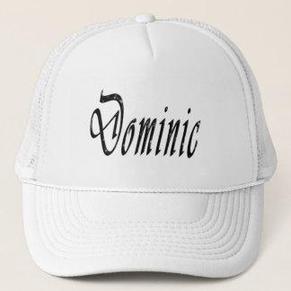 Dominic, Name, Logo, Trucker Hat