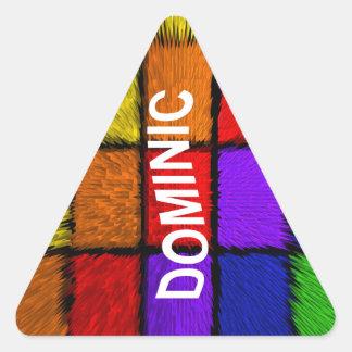DOMINIC TRIANGLE STICKER