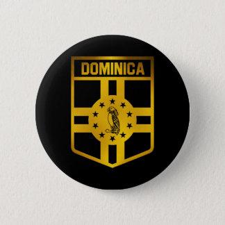 Dominica Emblem 6 Cm Round Badge