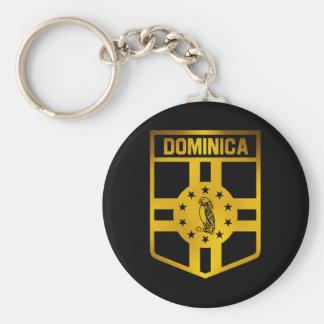 Dominica Emblem Key Ring