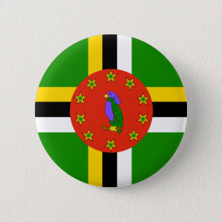 Dominica Flag 6 Cm Round Badge