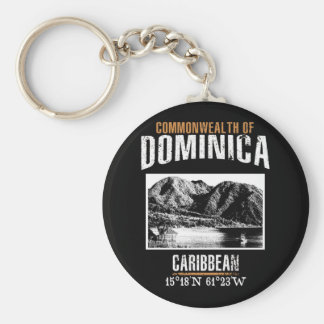 Dominica Key Ring