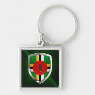 Dominica Mettalic Emblem Key Ring