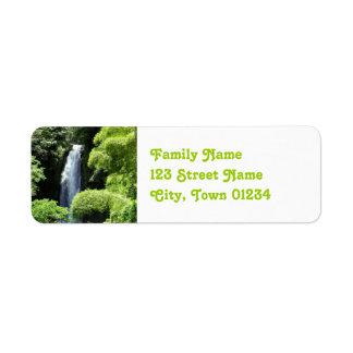 Dominica Return Address Label