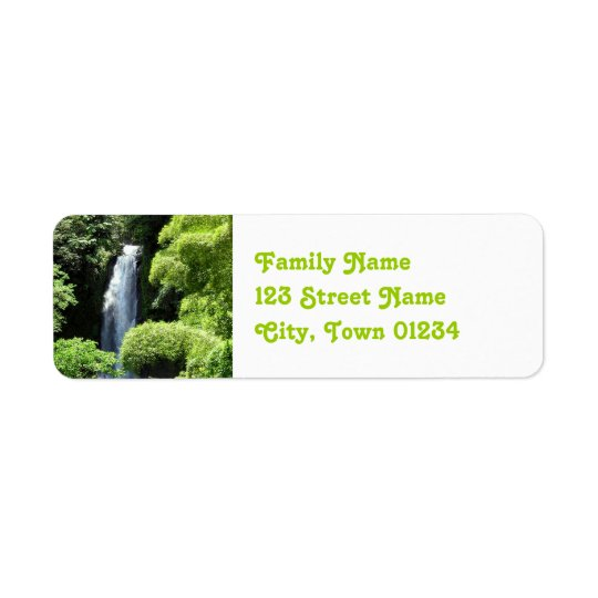 Dominica Return Address Label