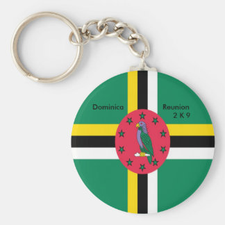 Dominica  Reunion 2K9 Key Chain