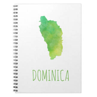 Dominica Spiral Notebooks
