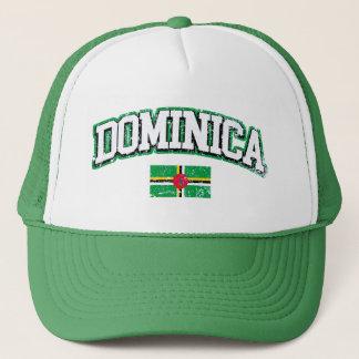 Dominica Vintage Flag Trucker Hat