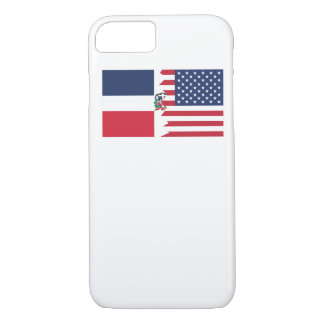 Dominican American Flag iPhone 7 Case